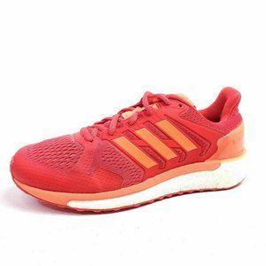 Adidas Womens 6.5 Supernova ST Running Shoes Red